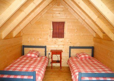 Mini-chalet Chambre