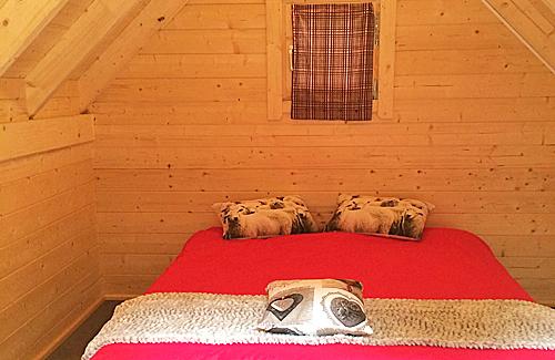 Mini-chalet Camping Le Gave d'Aspe Pyrénées